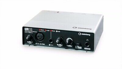 Steinberg UR12 2x2 USB 2.0 Compact Audio Interface with Preamp w/ Cubase AI/LE
