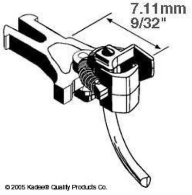 Kadee 17 NEM362 European Coupler Short 7.11mm (2