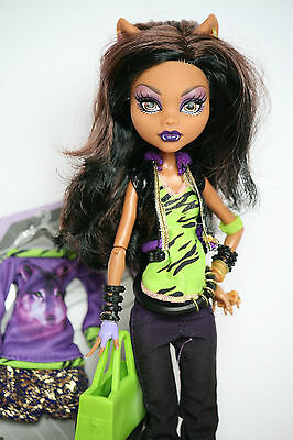 Monster High Puppe Clawdeen Wolf I Love Fashion / I Heart Fashion Doll