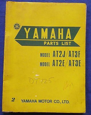 Yamaha AT2J And AT3F Parts Book