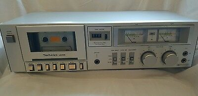Vintage Technics Cassette Deck Recorder Model # RS-M205