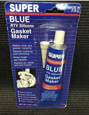 Super Aure Rtv Silicone Instant Gasket Makermhigh Red Temp Sealant 3Oz 85G