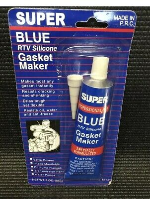 Super Aure Rtv Silicone Instant Gasket Maker High Black Temp Sealant 3Oz 85G