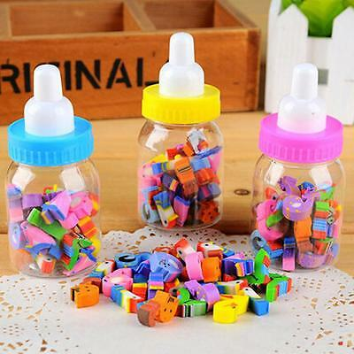 25pcs  Animals Cartoon Number Kids Rubber Eraser Stationery Pencil
