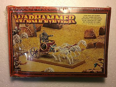 Warhammer Fantasy OOP Tomb King on Chariot Khemri New Sealed