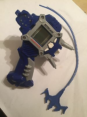 Original Old 2001 Beyblade Dranzer Shooter Handle Lcd Launcher + Rip Cord