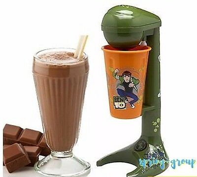 Milkshake Making Machine Shake Maker Drinks Mixer Ben 10 Kids Boys Snack