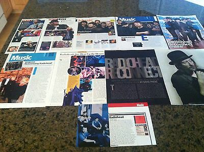*RADIOHEAD* Clipping Lot! MUST SEE! L@@K