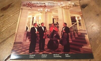 Lp * Eterna 828006 Rossini Haydn Couperin Double-Bass Sanderling 1987 /a
