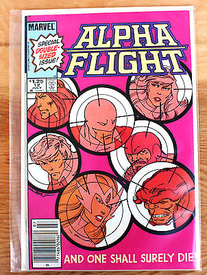 Alpha Flight #12 (Jul 1984, Marvel) Special Double-Sized Issue