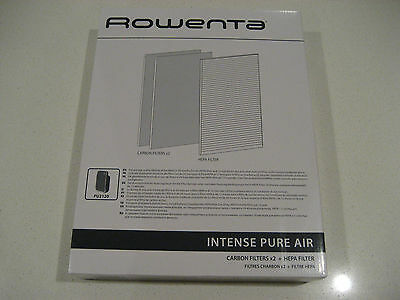 ROWENTA air purifier filter, parts number: XD6040F0. Use on Model: PU2120