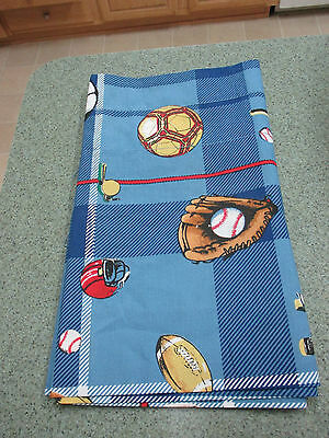Window Valance for Boy's Room Sports