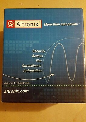 Altronix Al125Ul Power Supply And Battery Charger New 12 Or 24 Volts Dc.