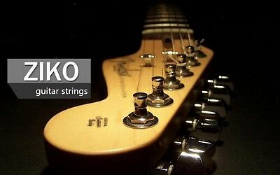 High Quality ZIKO Nickel Electric Guitar Strings   .010 .013 .017 .026 .036 .046
