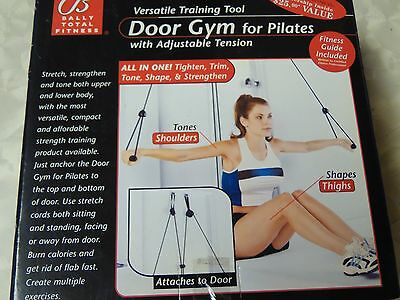 Bally Fitness Door Gym for Pilates Adjustable Tension  NIOB