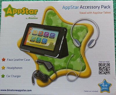 AppStar Accessory pack for 7inch Tablet by Binatone NEW