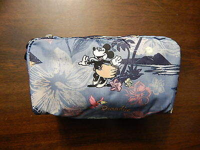 NWT LeSportsac Rectangular Cosmetic Pouch Disney Minnie $28 Vacation Paradise
