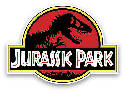 "Jurassic Park sticker decal 5""x4"""