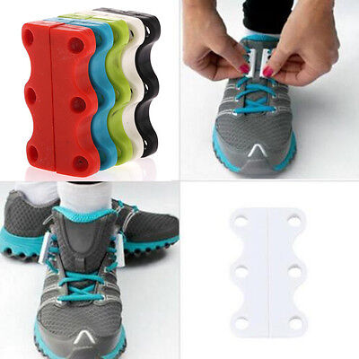 CHEAP! Novelty Sneaker Closure No-Tie Magnetic Casual Shoelace Shoe Buckles