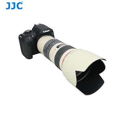 Lens Hood for Canon 70-200mm F4L IS USM Replace Canon ET74 White Petal Tulip