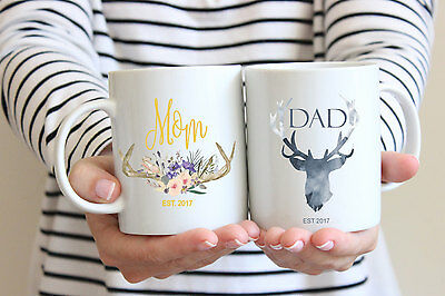 pregnancy announcement mugs mom mug dad mug mug set parents