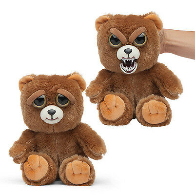 Wmc Feisty Pets Sir Growls A Lot Bear Plush Toy Nice To Feisty With A Squeeze