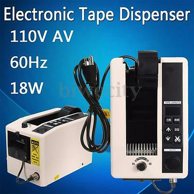 110V 18W Automatic Cutter Adhesive Tape Feeder Dispenser Cutting Packing Machine