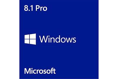 Microsoft MS Windows 8.1 Pro Professional x64 DVD, Sold with New Computer System