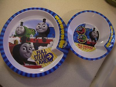 Thomas the Tank Engine Friends Melamine Plate and Cereal Bowl Zak! Designs