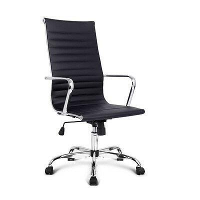 Eames Replica PU Leather Executive Designer Office Chair Black