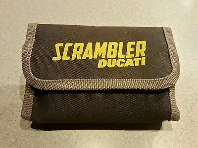 Trousse set attrezzi tools originale genuine moto Ducati Scrambler nuova
