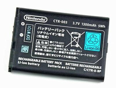 OFFICIAL OEM Nintendo 3DS CTR-003 Rechargeable Battery - UK Seller