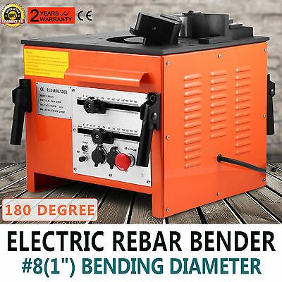 """Electric 1"""" inch Rebar bending Bender Foot Switch #8 Foot pedal included"""
