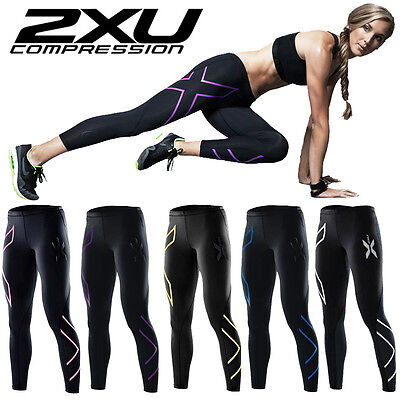 2XU Compression Pants Casual Women Stretch Tight Yoga Gym Pants Sport Trousers