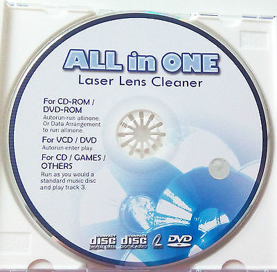Reinigungs CD für CD DVD Blu Ray Linsenreiniger Lens Cleaner auch Windows MAC