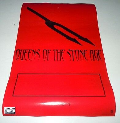 QUEENS OF THE STONE AGE~Songs For The Deaf~Promo Poster~11x17~Excellent~2002
