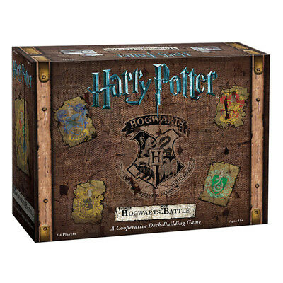 Harry Potter Hogwarts Battle A Cooperative Deck-Building Card Game NEW
