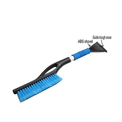 Practical Ice Scraper Winter Brush Car Care Windshield Cleaning Tool Snow Shovel