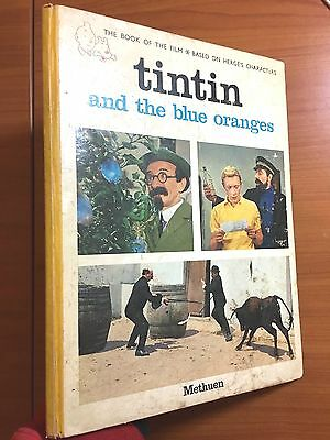 Tintin and the Blue Oranges Methuen 1965 1st UK Edition Originale EO Herge