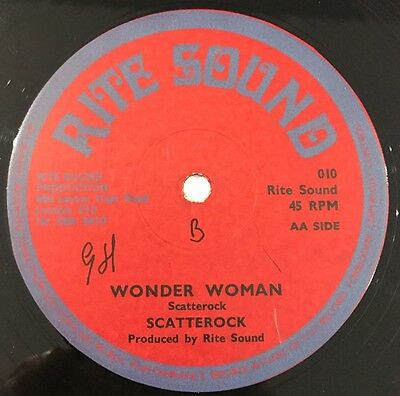 Scatterock 'Wonder Woman' killer Rare Roots !! Uk 12'