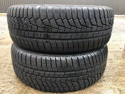2X Pneus Hiver Occasion  235/55/19 Hankook Winter 7Mm