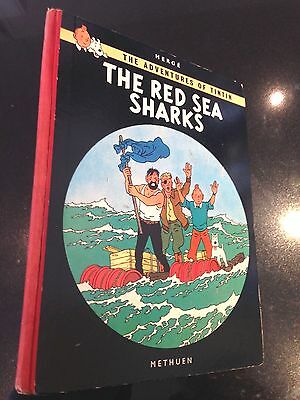 Tintin: The Red Sea Sharks Methuen 1960 1st UK Edition Originale EO Herge