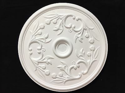 Easy Fit Polystyrene Ceiling Rose Very Light Weight -Rosette  with Adhesive