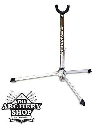 New SF Archery Elite Recurve Bow Stand (bowstand) Chrome/Black