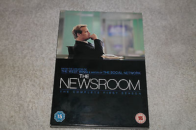 DVD The Newsroom - Series 1 - Complete (DVD, 2013, 4-Disc Set Jeff Daniels)