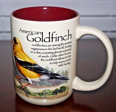 AMERICAN GOLDFINCH American Expedition Explore & Discover Oversize Coffee Cup