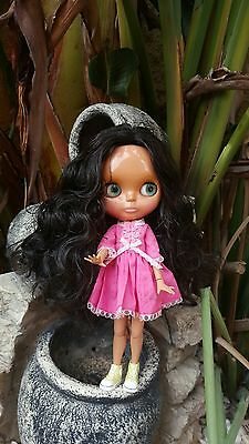 Blythe factory , tbl deep tan skin include neemo body