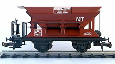 536 Wagon hopper marron metal ETS marchandise  ech 0