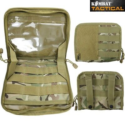 Army Small Commanders Panel Id Admin Folder Pouch Mtp Map Case Webbing Btp Mtp