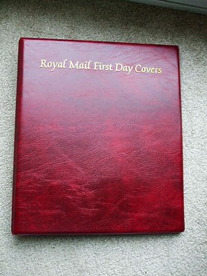 Royal Mail First Day Cover Album With 13 Sleeves